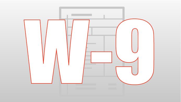Form W-9 IRA/LLC
